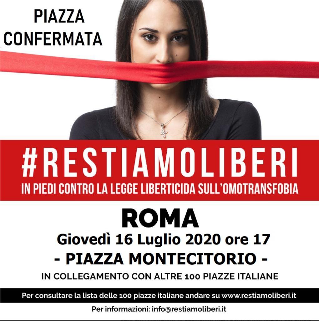 omofobia manifestazione roma